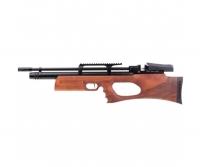 Винтовка пневматическая, воздушка Kral Puncher Breaker PCP Wood 4,5 мм с глушителем. Цвет - коричневый. 36810103