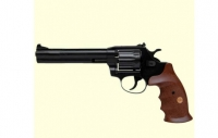 Револьвер под патрон Флобера Alfa mod.461 ворон/дерево. 14310052
