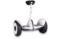 Гироскутер с ручкой для детей и взрослых SNS M1Robot mini (54v) - 10,5 дюймов White (Белый). 31205