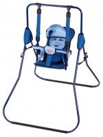Качель детская домашняя напольная Умка Casper  синий-голубой. 30990