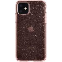 Чехол для моб. телефона Spigen iPhone 11 Liquid Crystal Glitter, Rose Quartz (076CS27182). 45226