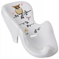 Горка для купания Tega Owl (Plus Baby) PB-SOWA-003 нескользящая 106 gray. 33146