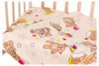 Сменный комплект Qvatro Gold SG-03 рисунок  бежевый (мишки с шариками). 34700