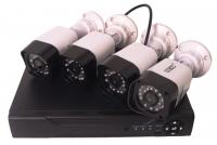 Комплект DVR регистратор 4-канальный и 4 камеры DVR CAD D001 KIT MHz. 49250
