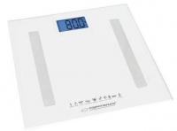 Весы напольные Esperanza EBS016W B.Fit 8 в 1, белые. 48736