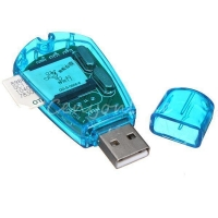 Кард ридер клонер MHz USB Sim card reader GSM/CDMA. 41787