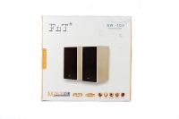 Колонки для ПК компьютера MHz FnT-101 black. 44539