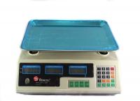 Торговые электронные весы до 50 кг Domotec MS-228 MHz. 49268