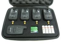 Набор сигнализаторов поклевки с пейджером 4+1 SF23657 MHz. 49178