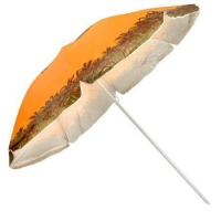 Зонт пляжный Stenson d2.0м серебро Stenson MH-0039. 49316
