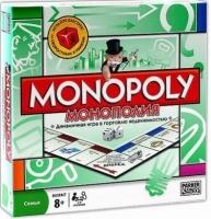 Настольная игра Монополия оригинал Monopoly MHz. 49078