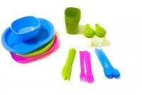 Набор посуды для пикника R86497 36 шт, на 4 персоны MHz. 49136
