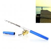 Складная походная мини-удочка + катушка, ручка F&D. 49170
