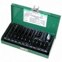 Набор бит 15 шт. TORX (30/75 мм), Т20-Т55. HANS (06415) AS. 48974