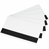 Карточка пластиковая чистая Zebra Premier (PVC), магнитная полоса, 30 mil, 500 шт (104523-112). 47652