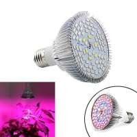 Фитолампа фито лампа для растений, полный спектр E27, 78LED 24Вт F&D. 49082