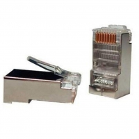 Коннектор RJ45 cat.5e FTP 8p8c Atcom (10698). 47102