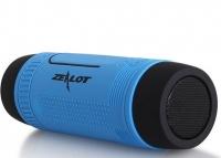 Велосипедная bluetooth колонка Zealot S1 с креплением на руль, голубая. 49119