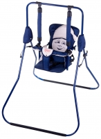 Качель детская домашняя напольная Умка Casper  т.синий-бежевый. 30992