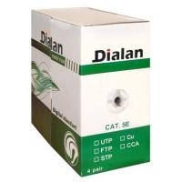 Кабель сетевой Dialan UTP 305м КНПп 4*2*0,50 [СU] cat.5e, внеш., проволка 1,2мм (11208). 48409