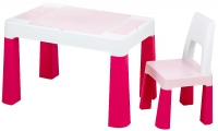 Детский стол и стул Tega Multifun Eco MF-004 123 light pink. 31040