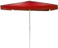 Зонт пляжный Stenson 2.5x2.5м Stenson MH-0045 красный. 49320