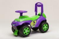 Чудомобиль Active Baby музыкальный Фиолетово-зеленый. 49308