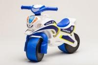 Беговел Active Baby Police Бело-синий. 49301