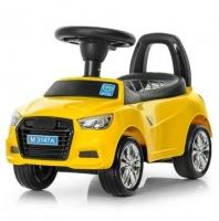 Детская каталка-толокар Bambi Audi M 3147A-6, желтая. 49309
