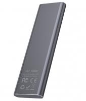 Внешний накопитель SSD Type-C HOCO UD7 512GB, серый. 42293
