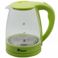 Электрический стеклянный чайник FO 1,8 л (Салатовый). 48930
