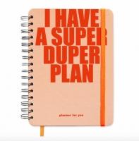 Планер I have a plan персик FO. 49068