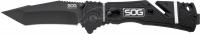 Нож SOG Trident Elite Tanto Black Blade. 12580168