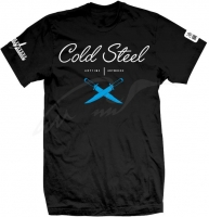 Футболка Cold Steel Cross Guard T-Shirt. Размер - XXL. Цвет - черный. 12601133