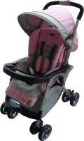 Детская коляска прогулочная Everflo E-301  pink/grey. 31142