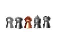 Пули пневматические (для воздушки) 4,5мм (215шт) H&N Test (6 типов пуль). 14530181