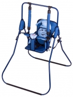 Качель детская домашняя напольная Умка Casper  т.синий-голубой. 30994