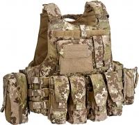 Жилет тактический Defcon 5 Body Armour Full Set. Цвет - мультилэнд. 14220009