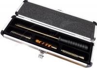 Набор для чистки MegaLine 04/70022. кал. 22. Пистолетный, латунный шомпол. Алюминиевая коробка. 14250131