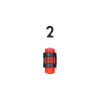 Мушка MEGAline 180/1 D.3. Цвет - красный. 14250219