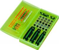 набор мушек (5 шт.) Dead Ringer Pro-Pack. 10 цветных вставок. Кейс для хранения. 14250404
