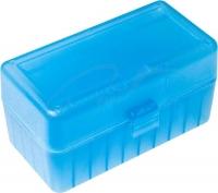 Коробка для патронов GTI Equipment кал .223 Rem. Количество - 50 шт. Цвет - голубой. 14280006