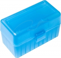 Коробка для патронов GTI Equipment кал .308 Win. Количество - 50 шт. Цвет - голубой. 14280008