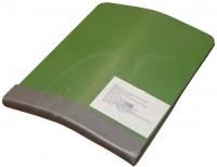 Бронепластина RSS Стальная 250х300 мм Класс защиты-5 (7,62х39,5,45х39,7,62х54R со стальн ц:зеленый. 14320005