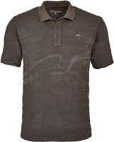 Тенниска поло Blaser Active Outfits Jacquard XL ц:коричневый. 14471829