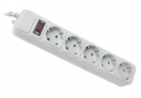 Сетевой фильтр-удлинитель MHz 4801 SP5 на 5 розеток, 3 м. 48998