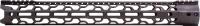 Консольное цевьё ODIN O2 Lite для AR-10 Длина - 17,5''. 15120108