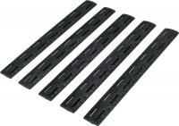 Накладка защитная BCM 5.5'' на цевье M-Lok (5 шт. в уп.) цвет: черный. 15120138