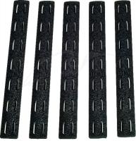 Накладка BCM защитная 5.5'' на цевье KeyMod (5 шт. в уп.) цвет: черный. 15120140