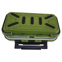 Коробка для снастей SF24119, 16х9х4.5 см, зеленая MHz. 49194